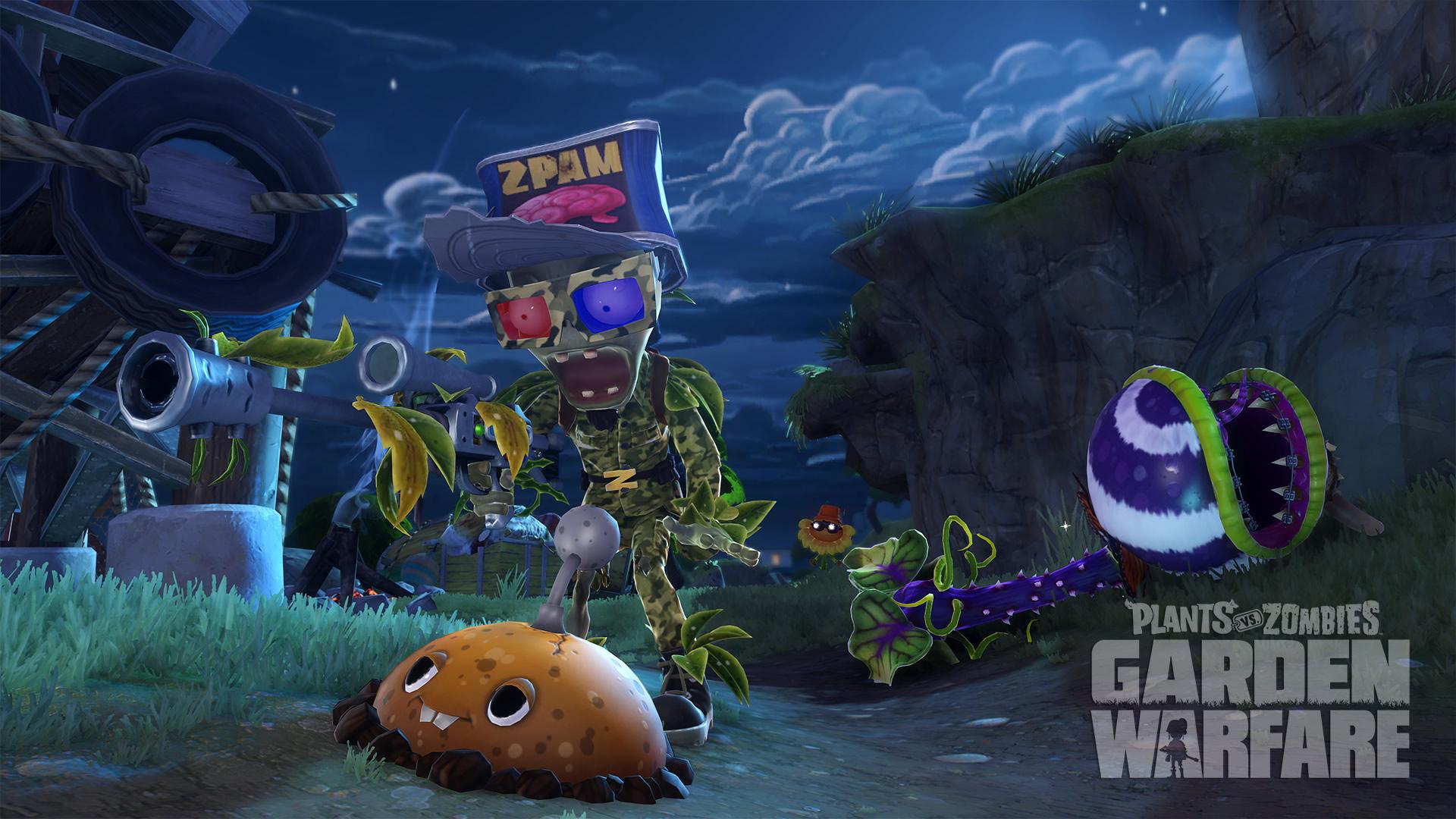 Pvz garden warfare review jatokun reviews de playstation 4 y pc for Plants versus zombies garden warfare